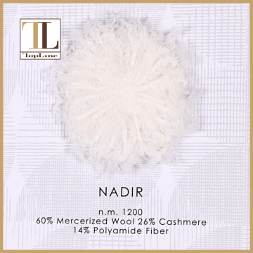 Mercerized Wool Cashmere Polyamide Fiber Yarn
