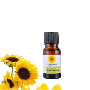 10ML Pure Sunflower Essential Oils Aroma Diffuser Tea Tree Jasmine Rosemary Ylang Basil Tulips Oil
