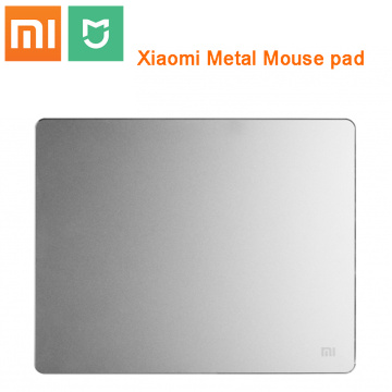 Original Xiaomi Metal Mouse Pad large Gaming Mouse Mat pure Metal Mousepad Luxury Slim Aluminum PC Computer mouse Pads Anti-skid