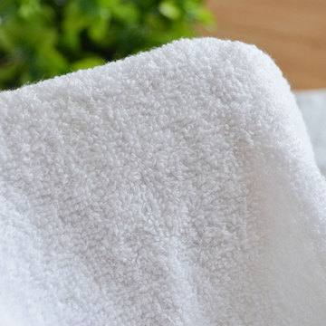 100% Open End Cotton Hotel Washcloth