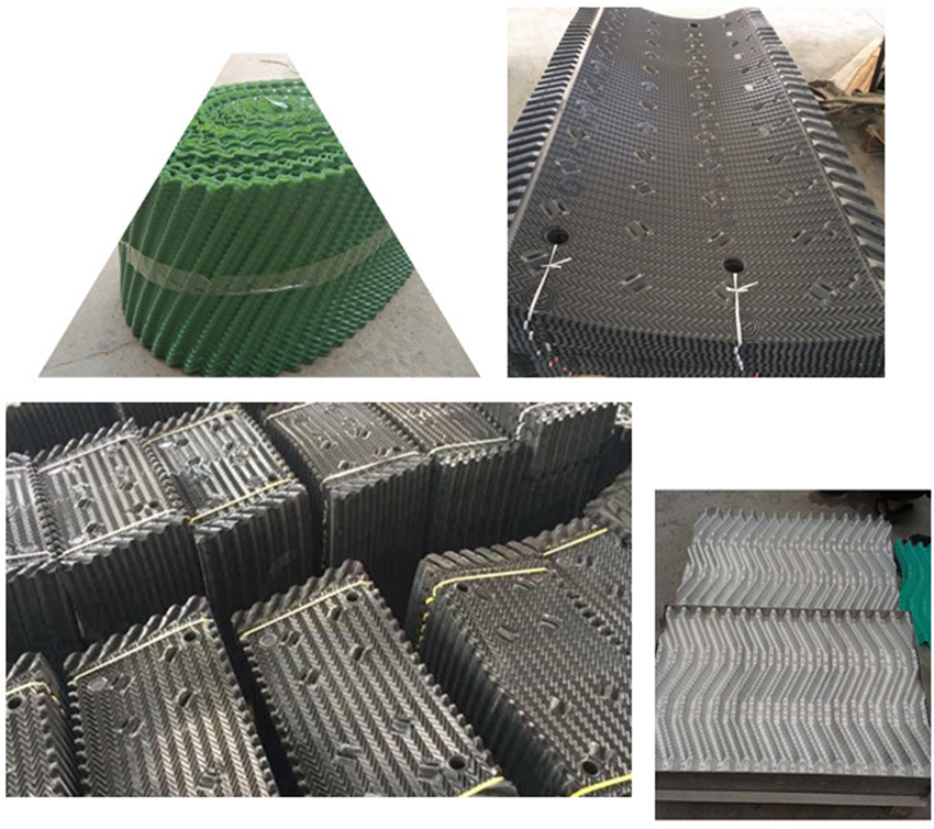BAC Cross Flow Cooling Tower Filling