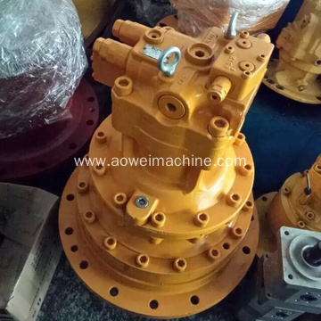 JS130 swing reduction,excavator slew motor,LNM0437,