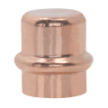 V type Copper Press Cap