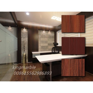 pvc wooden texture imitation sheet for interior decoration