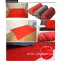 Non woven velour mat with pvc backing