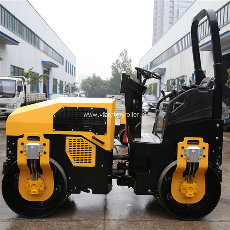 Hydraulic Articulated Steering Soil Compaction Road Roller