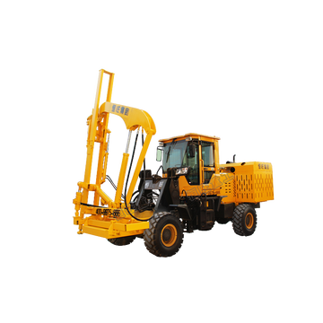 HWH930ZQ Loaded Guardrail Pile Driver Machine