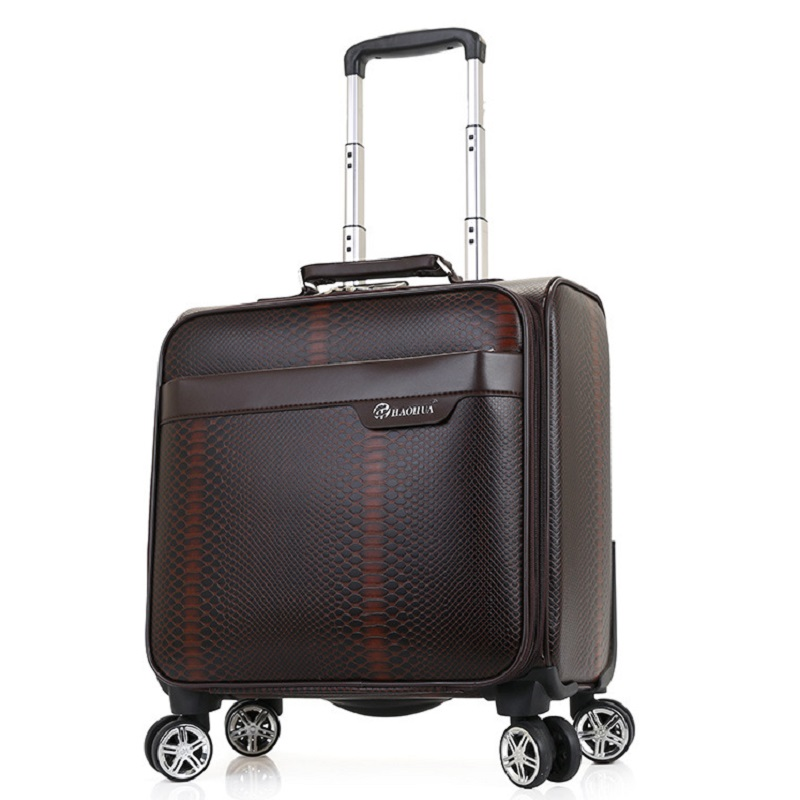 Pu Leather Fabric Luggage