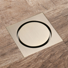 HIDEEP Bathroom Anti-odor Copper Floor Drain