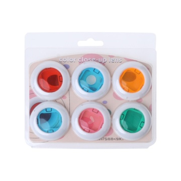 Instax Mini 8/8+/9/7s/KT 6 Pcs Colorful Filter Lens For Fuji Instant Film Camera Dropshipping