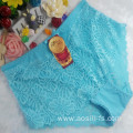 OEM wholesale stylish cameo brown sexy plus size lace cotton fancy panty 5861