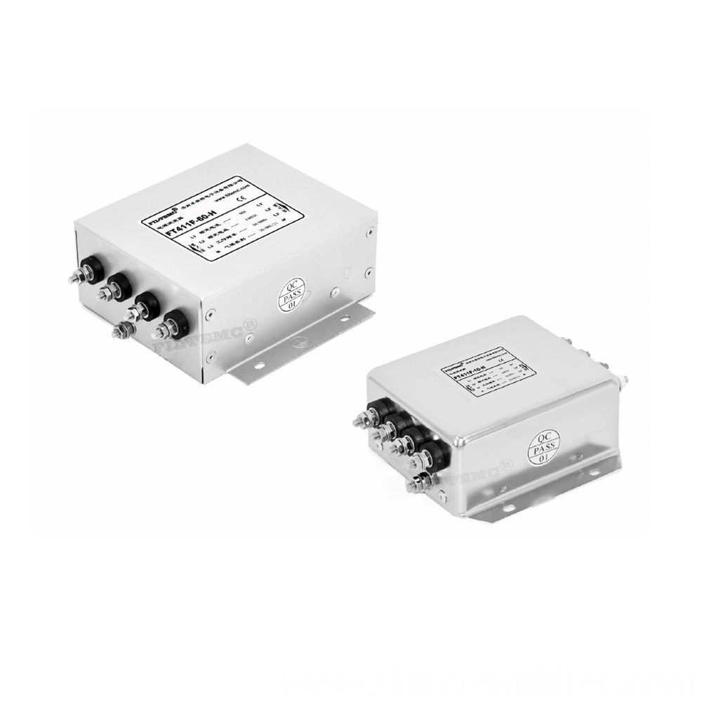 Emi Filters For Medical Equipment Ac 3 Phase 4 Line Series