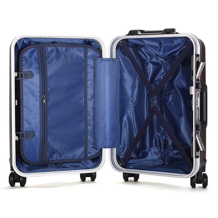 (1)20inch Colourful waterproof classic wheeled trolley case