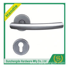 SZD STH-117 Building Construction Materia Inox Hollow Stainless Steel Door Handle On Rose
