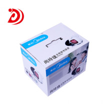 Home appliance cardboard box with handle