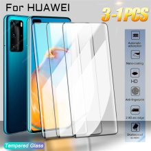 Tempered Glass For Huawei P30 P20 P40 Pro Lite Screen Protector P Mate 20 30 40 Lite Pro smart Z Y6 2019 2018 Full Cover Film
