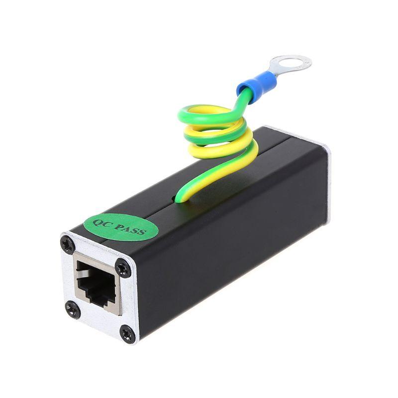 Deek-Robot Network RJ45 monitoring equipment camera lightning protector surge protector Protection device Lightning Arrester