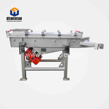 linear vibrating sieve for dates powder