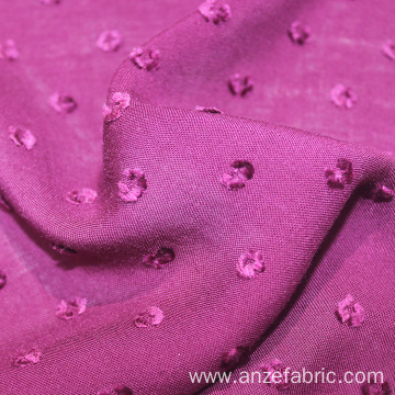 Cheap purple 81*82 woven rayon dobby fabric