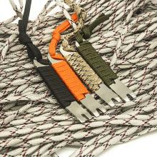 EDC Outdoor DIY Parachute Small Pocket Stainless Steel Crank Scraper Crowbar Winding Pin Key Crowbar Multifunctional Tool