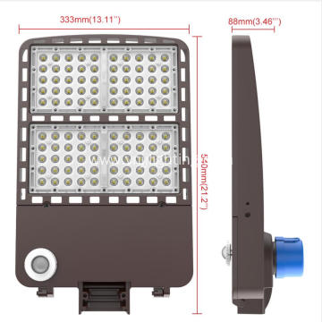 Oudoor parking lot light shoebox led street light