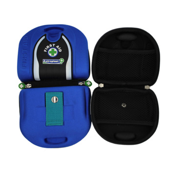 Protective home equipment first aid case with zipper