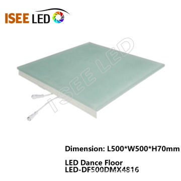 DMX LED Wedding Dance Floor Light Music Actiavted