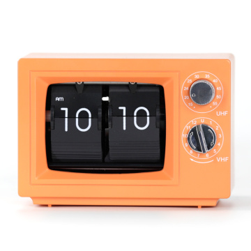 TV Flip Desk Clocks with Light