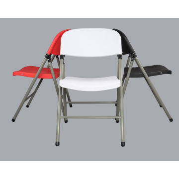 White PP Injection Folding Chair