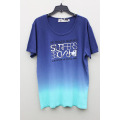 Men's Fashion Cotton Short Sleeve T-Shirt-tie dyed