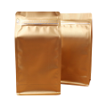 Coffee powder-bag with gusset foil coffee-bag with valve