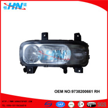 Head Lamp With Fog Lamp 9738200661 Truck Parts For Axor
