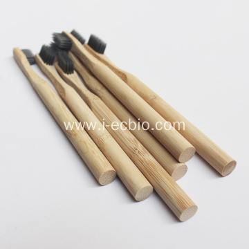 Bamboo Toothbrush With Round Handle