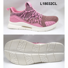 Good quality fashion Lightweight Flykniting sport shoes