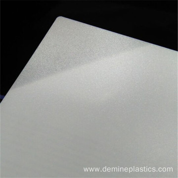 Polycarbonate sheet clear frosted translucent sheet