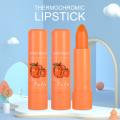 1 Pcs Lasting Moisturizing Lipstick Sweet Jelly Lipstick Natural Change Color Cute Peach Lips Nutritious Lip Blam