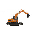 Rhinoceros wheel-crawler excavator X9