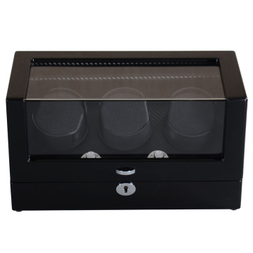 triple watch winder travel case