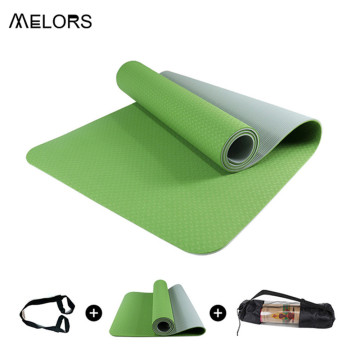 MELORS Eco Friendly Fitness Exercise Mat for Women