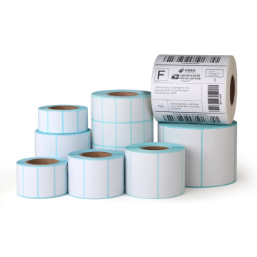 Plain White Self Adhesive Blank Thermal Label Roll