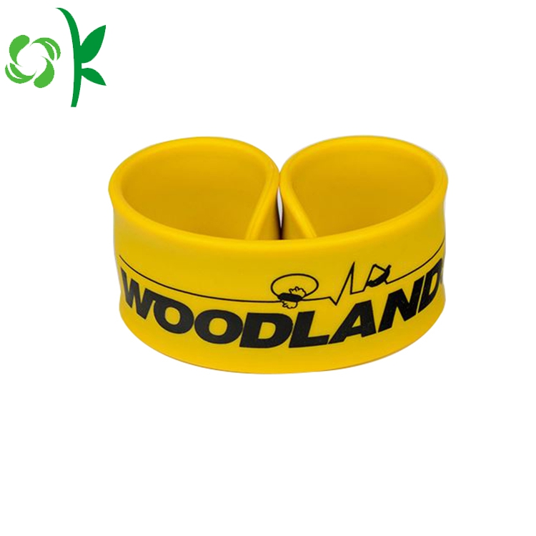 Silicone Slap Bands Yellow