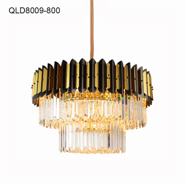 modern chandelier light indoor crystal lamps