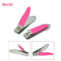 Best stainless steel nail clipper TPR coating handle