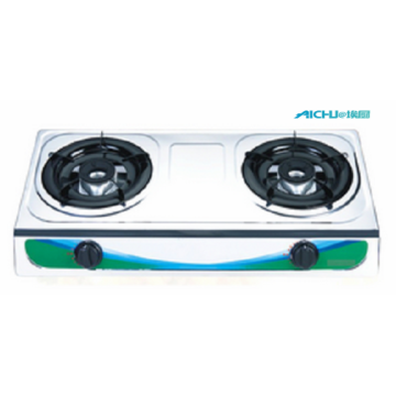 S.S Two Burners Gas Stove
