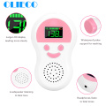 OLIECO 2.5MHz Baby Heartbeat Fetal Monitor Doppler Medical Home Pregnant Baby Stethoscope Pocket Prenatal Heart Rate Detector