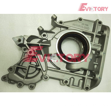 VOLVO parts D12C water pump D12C oil pump