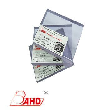 Thickness 3-150mm Polycarbonate PC Plastic Sheet