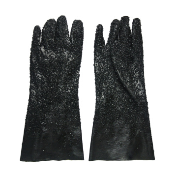 Black All particles gloves 40cm
