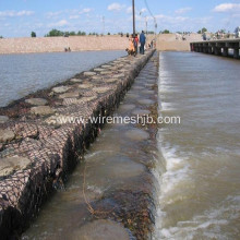 3.0 mm Galvanized Gabion Box for River Bank Project