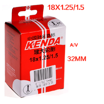 KENDA 18 inch FV &AV bicycle bike inner tube for sale